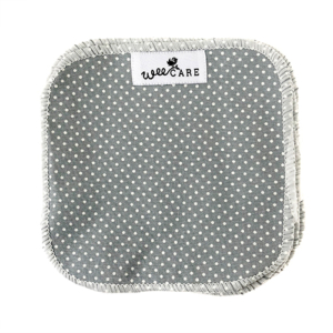 Vaskeklude-Dots-Dusty-Blue-WeeCare