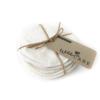 Bløde ammeindlæg i bambus kan vaskes og bruges igen og igen.