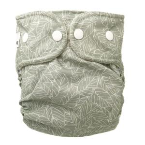 Moderne stofble fra WeeCare i farven Leaves - Mint.