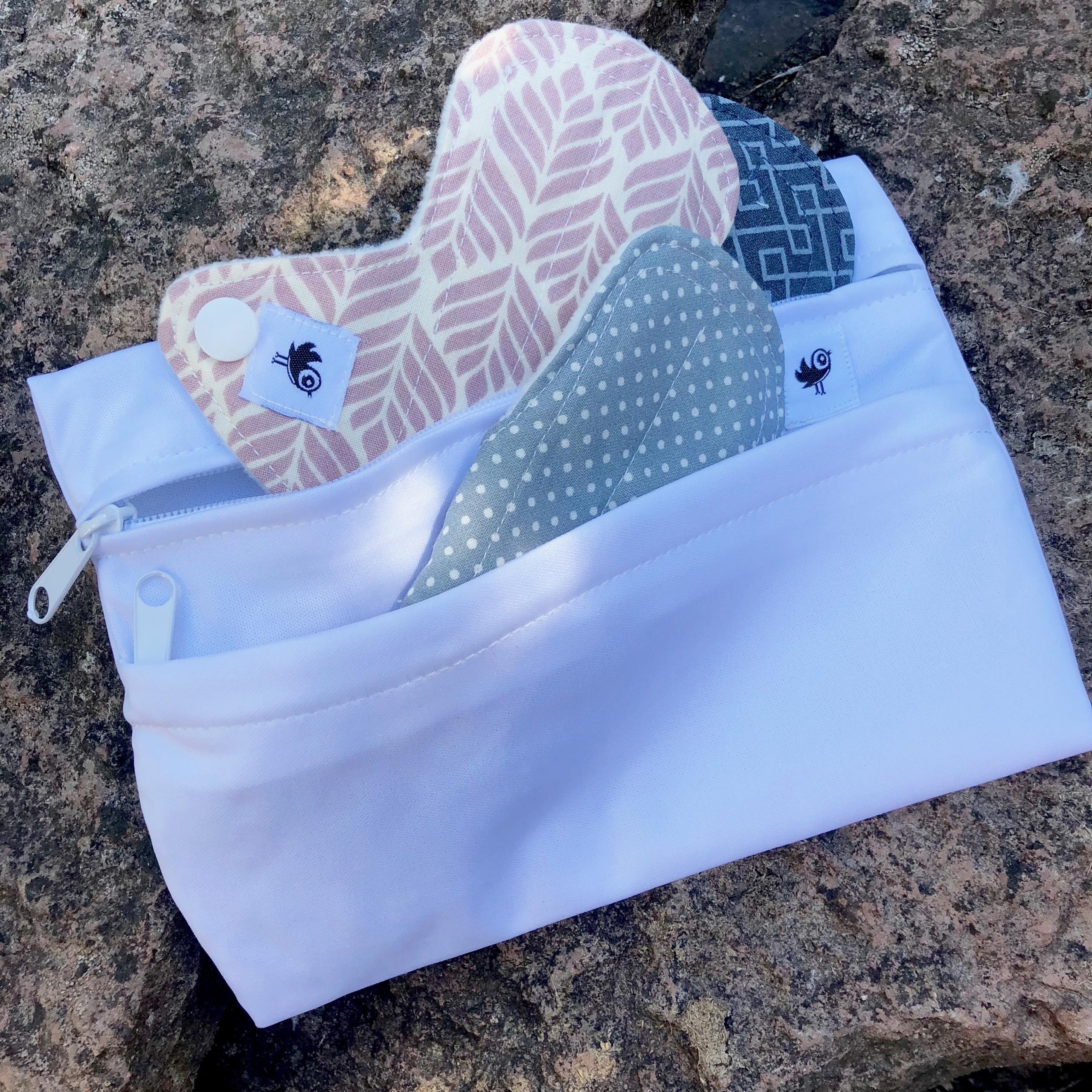 Mini wetbag fra Weecare med genanvendelige